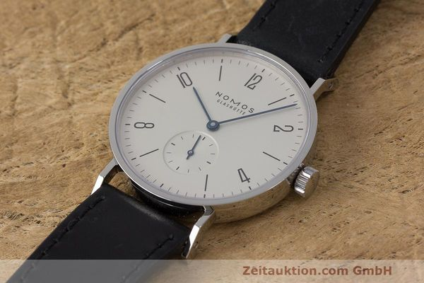 Used luxury watch Nomos Tangente steel manual winding Kal. Alpha  | 162019 01