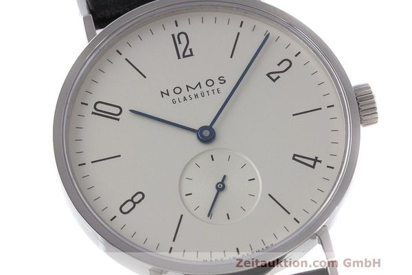 Used luxury watch Nomos Tangente steel manual winding Kal. Alpha  | 162019 02