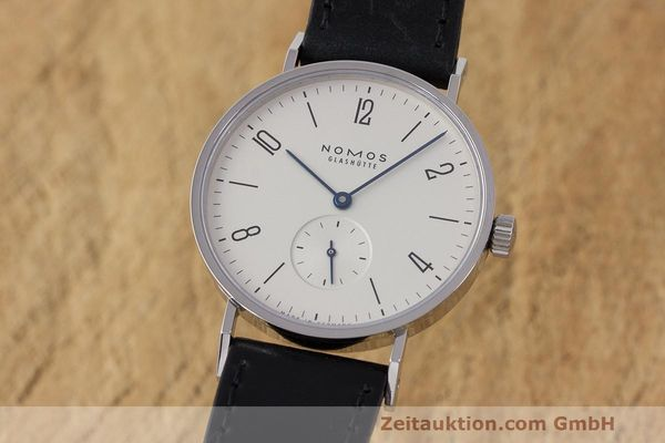 Used luxury watch Nomos Tangente steel manual winding Kal. Alpha  | 162019 04