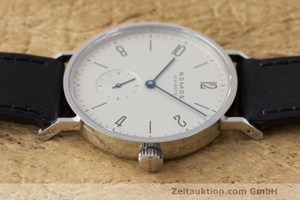 Used luxury watch Nomos Tangente steel manual winding Kal. Alpha  | 162019 05