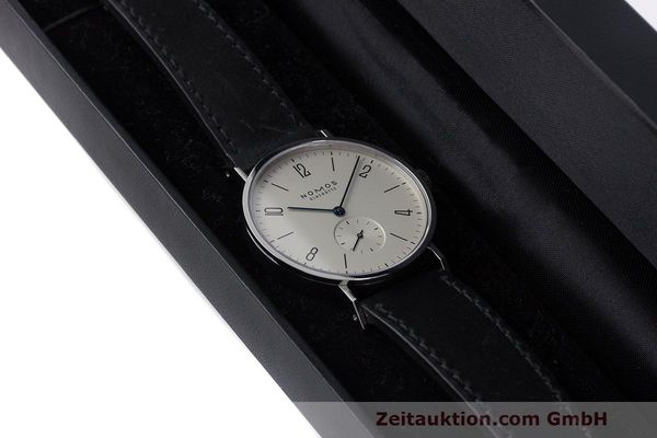 Used luxury watch Nomos Tangente steel manual winding Kal. Alpha  | 162019 07