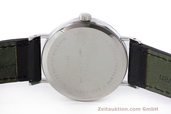 Used luxury watch Nomos Tangente steel manual winding Kal. Alpha  | 162019 09