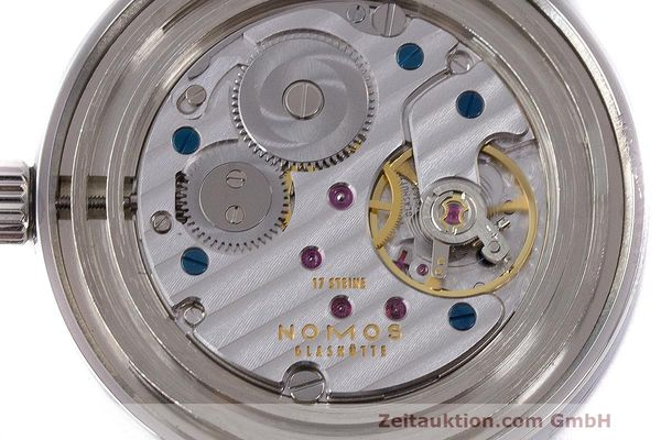 Used luxury watch Nomos Tangente steel manual winding Kal. Alpha  | 162019 10