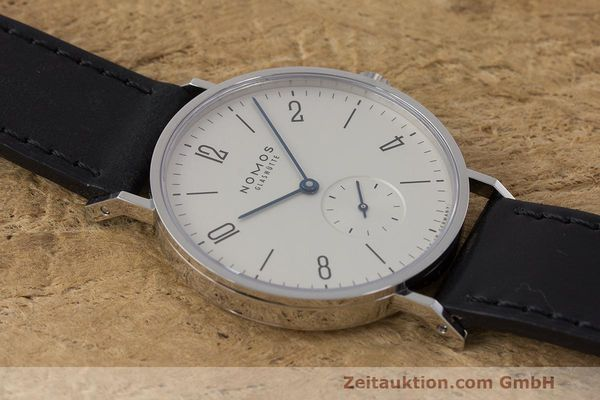 Used luxury watch Nomos Tangente steel manual winding Kal. Alpha  | 162019 14