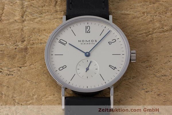 Used luxury watch Nomos Tangente steel manual winding Kal. Alpha  | 162019 15
