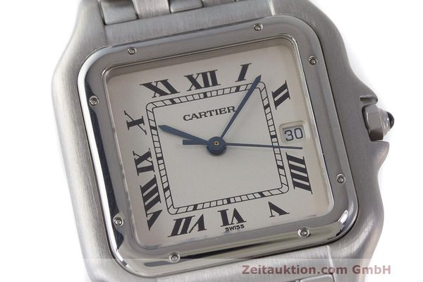 Used luxury watch Cartier Panthere steel quartz Kal. 87.06 Ref. 1300  | 162021 02
