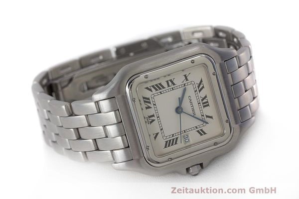 Used luxury watch Cartier Panthere steel quartz Kal. 87.06 Ref. 1300  | 162021 03