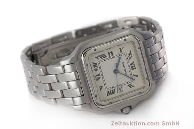 CARTIER PANTHERE ACIER QUARTZ KAL. 87.06 LP: 3500EUR [162021]