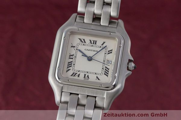 Used luxury watch Cartier Panthere steel quartz Kal. 87.06 Ref. 1300  | 162021 04
