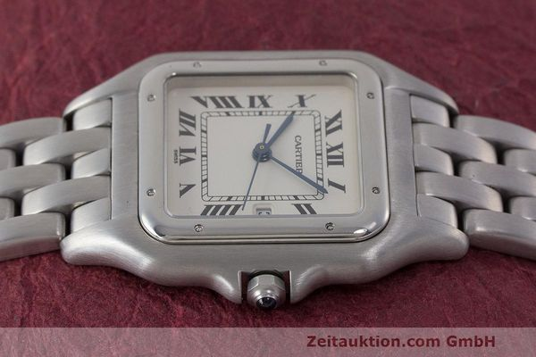 Used luxury watch Cartier Panthere steel quartz Kal. 87.06 Ref. 1300  | 162021 05