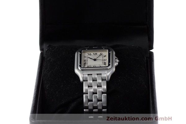 Used luxury watch Cartier Panthere steel quartz Kal. 87.06 Ref. 1300  | 162021 07