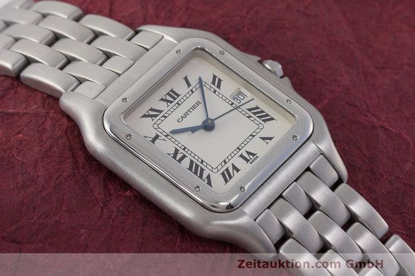 Used luxury watch Cartier Panthere steel quartz Kal. 87.06 Ref. 1300  | 162021 12
