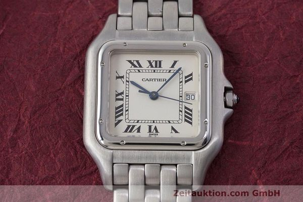 Used luxury watch Cartier Panthere steel quartz Kal. 87.06 Ref. 1300  | 162021 13