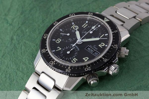 Used luxury watch Sinn 103 ST chronograph steel automatic Kal. ETA 7750  | 162022 01