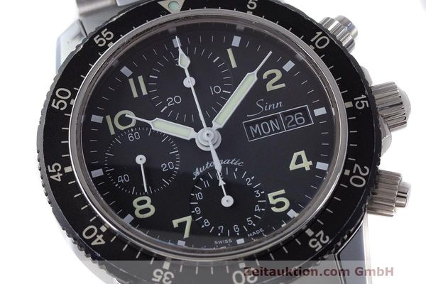 Used luxury watch Sinn 103 ST chronograph steel automatic Kal. ETA 7750  | 162022 02