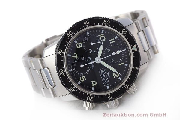 Used luxury watch Sinn 103 ST chronograph steel automatic Kal. ETA 7750  | 162022 03