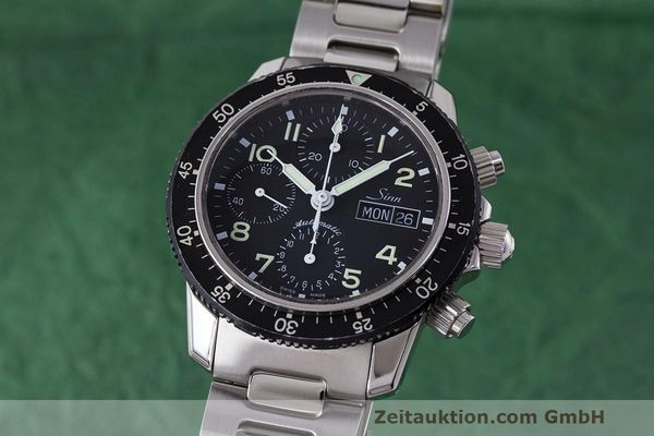 Used luxury watch Sinn 103 ST chronograph steel automatic Kal. ETA 7750  | 162022 04