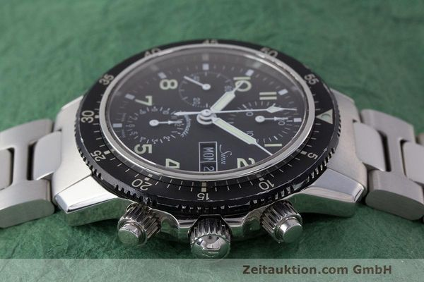 Used luxury watch Sinn 103 ST chronograph steel automatic Kal. ETA 7750  | 162022 05