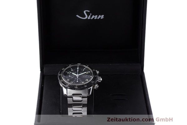 Used luxury watch Sinn 103 ST chronograph steel automatic Kal. ETA 7750  | 162022 07