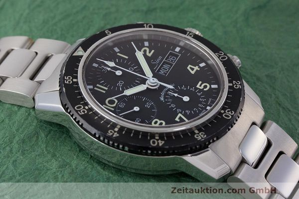 Used luxury watch Sinn 103 ST chronograph steel automatic Kal. ETA 7750  | 162022 17