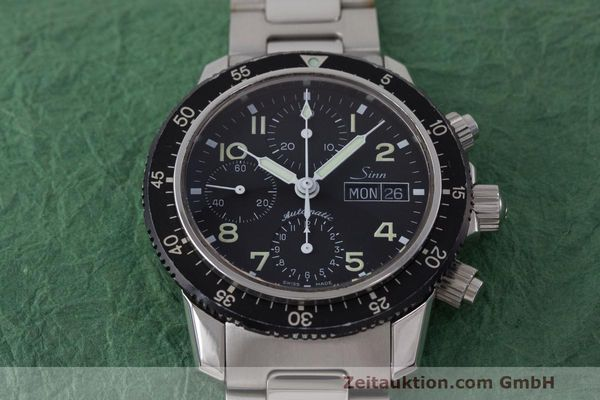 Used luxury watch Sinn 103 ST chronograph steel automatic Kal. ETA 7750  | 162022 18