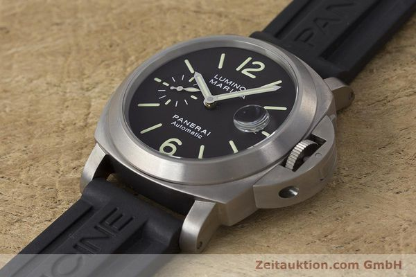 Used luxury watch Panerai Luminor Marina titanium automatic Kal. OP III ETA A05.511 Ref. OP6669 PAM00240  | 162023 01