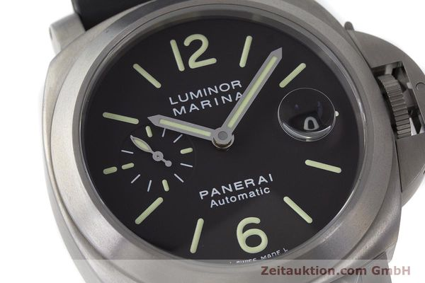 Used luxury watch Panerai Luminor Marina titanium automatic Kal. OP III ETA A05.511 Ref. OP6669 PAM00240  | 162023 02
