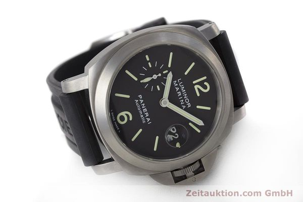 Used luxury watch Panerai Luminor Marina titanium automatic Kal. OP III ETA A05.511 Ref. OP6669 PAM00240  | 162023 03