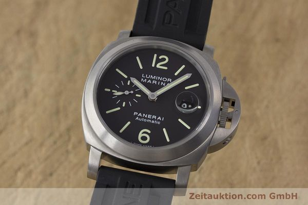 Used luxury watch Panerai Luminor Marina titanium automatic Kal. OP III ETA A05.511 Ref. OP6669 PAM00240  | 162023 04