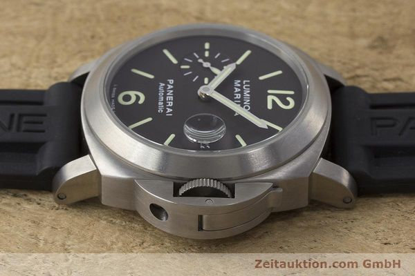 Used luxury watch Panerai Luminor Marina titanium automatic Kal. OP III ETA A05.511 Ref. OP6669 PAM00240  | 162023 05