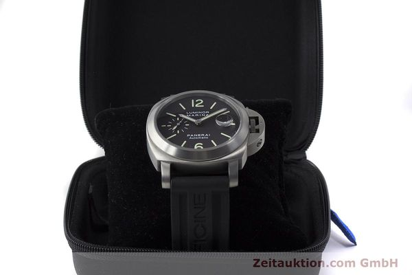 Used luxury watch Panerai Luminor Marina titanium automatic Kal. OP III ETA A05.511 Ref. OP6669 PAM00240  | 162023 07