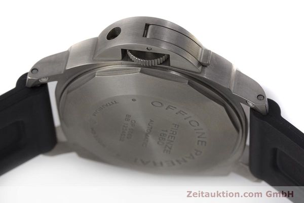 Used luxury watch Panerai Luminor Marina titanium automatic Kal. OP III ETA A05.511 Ref. OP6669 PAM00240  | 162023 08