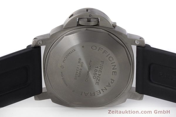 Used luxury watch Panerai Luminor Marina titanium automatic Kal. OP III ETA A05.511 Ref. OP6669 PAM00240  | 162023 09