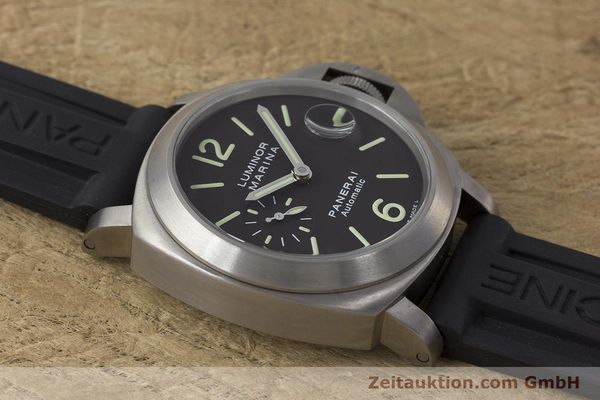 Used luxury watch Panerai Luminor Marina titanium automatic Kal. OP III ETA A05.511 Ref. OP6669 PAM00240  | 162023 15