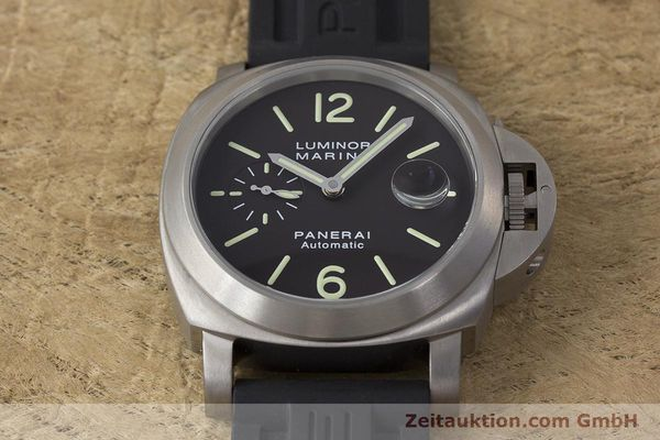 Used luxury watch Panerai Luminor Marina titanium automatic Kal. OP III ETA A05.511 Ref. OP6669 PAM00240  | 162023 16