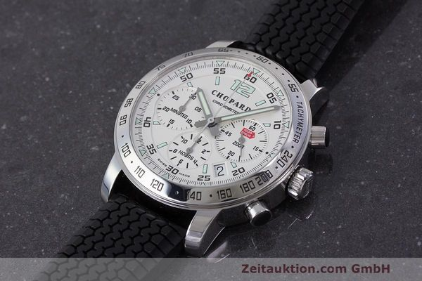 Used luxury watch Chopard Mille Miglia chronograph steel automatic Kal. ETA 2894-2 Ref. 8932 LIMITED EDITION | 162025 01