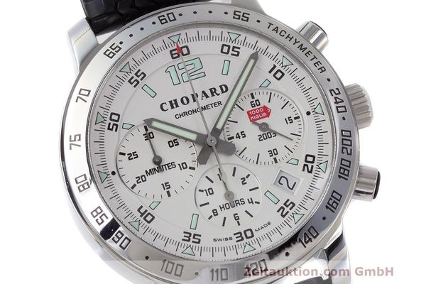 Used luxury watch Chopard Mille Miglia chronograph steel automatic Kal. ETA 2894-2 Ref. 8932 LIMITED EDITION | 162025 02