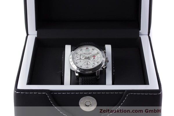 Used luxury watch Chopard Mille Miglia chronograph steel automatic Kal. ETA 2894-2 Ref. 8932 LIMITED EDITION | 162025 07