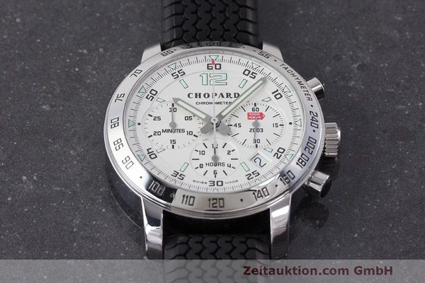 Used luxury watch Chopard Mille Miglia chronograph steel automatic Kal. ETA 2894-2 Ref. 8932 LIMITED EDITION | 162025 14