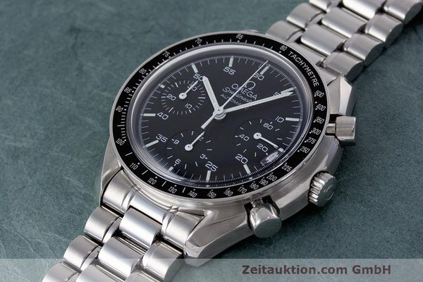 Used luxury watch Omega Speedmaster chronograph steel automatic Kal. 2320 Ref. 3510.50.00  | 162033 01