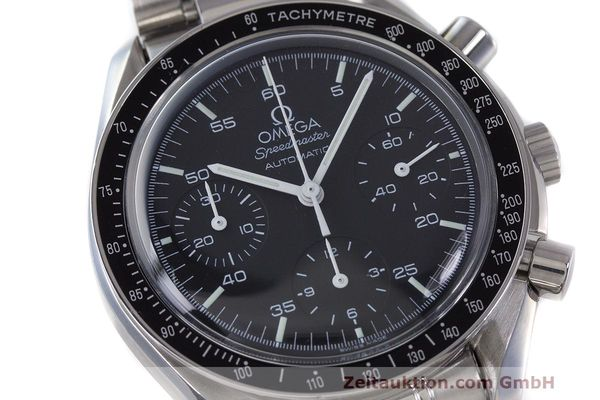 Used luxury watch Omega Speedmaster chronograph steel automatic Kal. 2320 Ref. 3510.50.00  | 162033 02