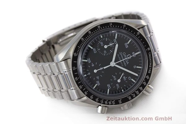 Used luxury watch Omega Speedmaster chronograph steel automatic Kal. 2320 Ref. 3510.50.00  | 162033 03