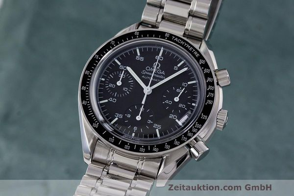 Used luxury watch Omega Speedmaster chronograph steel automatic Kal. 2320 Ref. 3510.50.00  | 162033 04