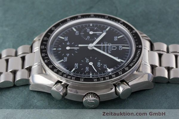 Used luxury watch Omega Speedmaster chronograph steel automatic Kal. 2320 Ref. 3510.50.00  | 162033 05