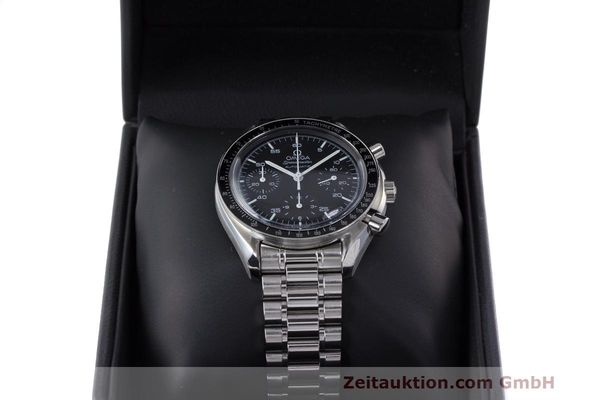 Used luxury watch Omega Speedmaster chronograph steel automatic Kal. 2320 Ref. 3510.50.00  | 162033 07