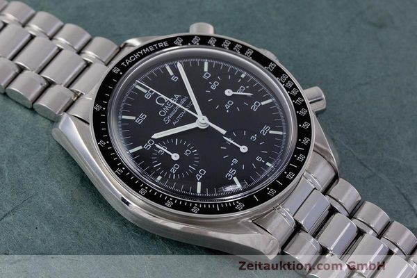 Used luxury watch Omega Speedmaster chronograph steel automatic Kal. 2320 Ref. 3510.50.00  | 162033 14