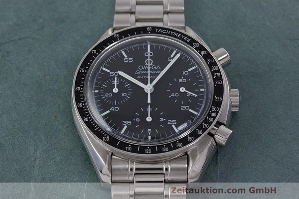 Used luxury watch Omega Speedmaster chronograph steel automatic Kal. 2320 Ref. 3510.50.00  | 162033 15