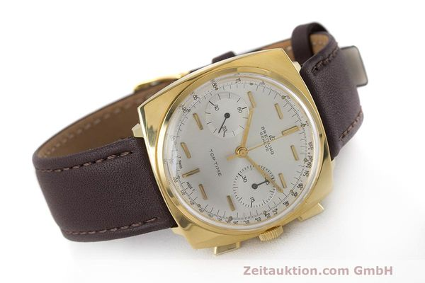 Used luxury watch Breitling Top Time chronograph gold-plated manual winding Kal. Valj. 7730 Ref. 2008 VINTAGE  | 162043 03