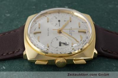 BREITLING TOP TIME CHRONOGRAPH GOLD-PLATED MANUAL WINDING KAL. VALJ. 7730 VINTAGE [162043]