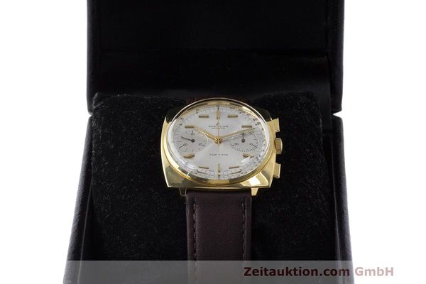 Used luxury watch Breitling Top Time chronograph gold-plated manual winding Kal. Valj. 7730 Ref. 2008 VINTAGE  | 162043 07
